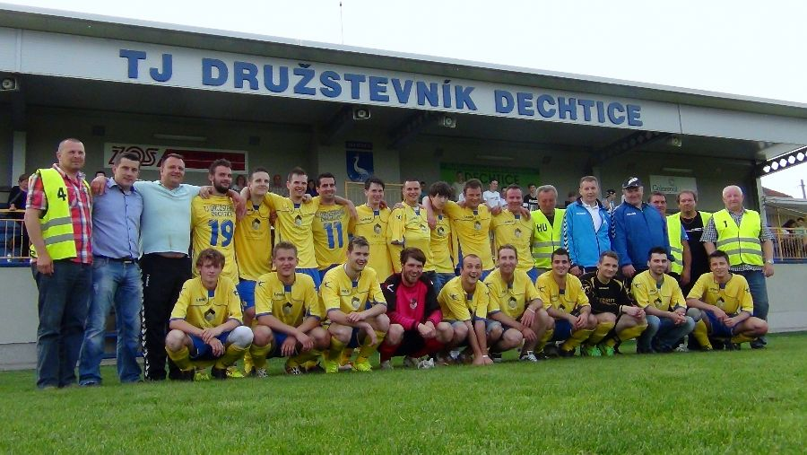 Photo of Dechtice – Bohdanovce 1:1  ●  Dechtice postupujú