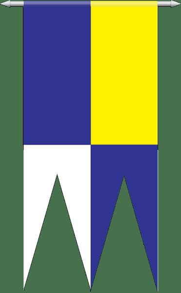 Vlajka obce Dechtice (základná)