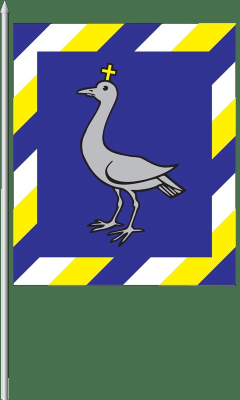 Vlajka obce Dechtice (variant)