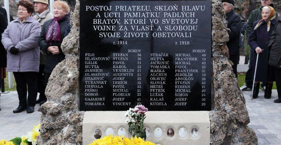 Photo of Obnovený pomník padlých