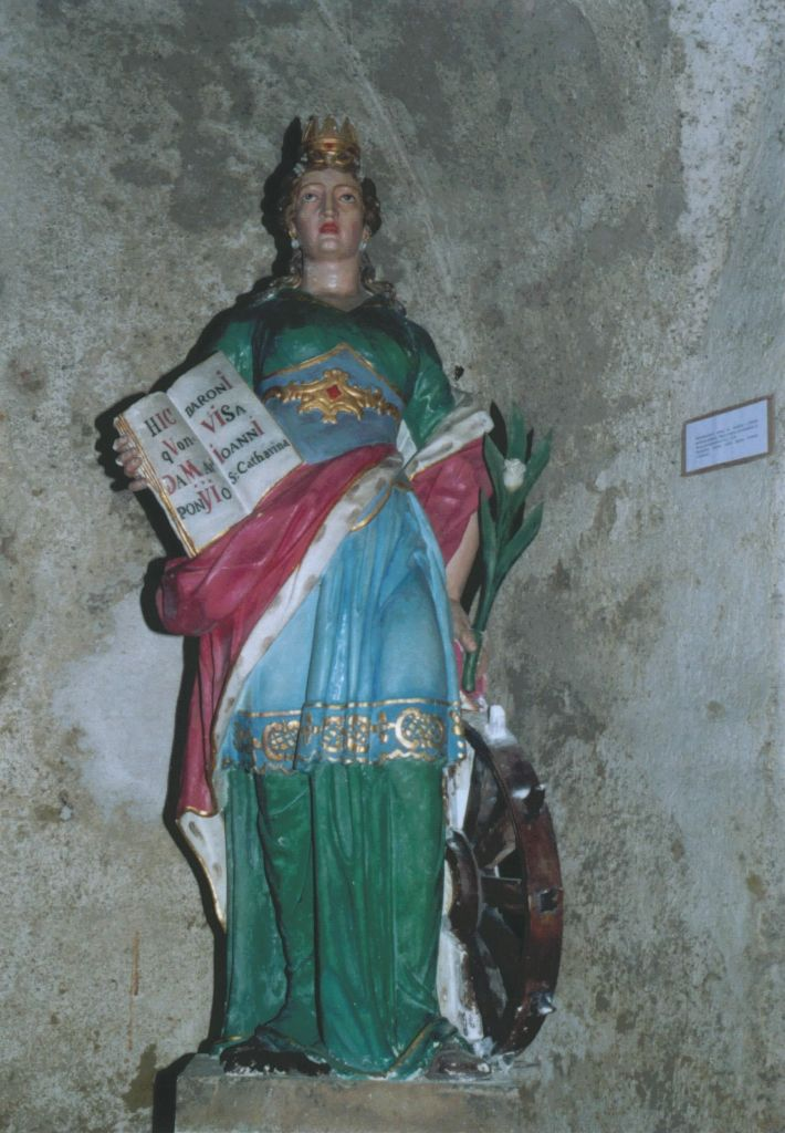 Socha sv. Kataríny Alexandrijskej